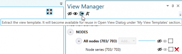 Extract a View Template and Save It for Reuse. You find it under My View Templates in the Open View Dialog